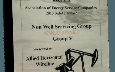 2018 Gold Safety Award